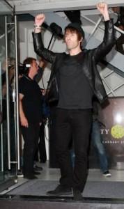 Liam Gallagher teve uma tarde bem agitada nesta quinta-feira…