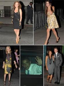 Barack Obama foi o convidado de honra de Anna Wintour em jantar beneficente.