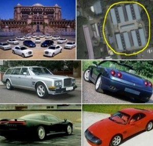 Ever wonder which is the luxury car collection, with the largest and highest performance in the planet?