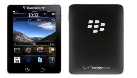 BlackPad: concorrente