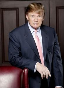 Donald Trump critica proprietários da mansão em que aconteceu o casamento de Chelsea Clinton.