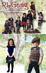 Olha só que fofa a campanha de inverno infantil da Polo Ralph Lauren.