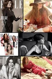 """Julia Roberts é a capa da """"Elle"""" norte-americana de setembro."""
