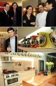 Foi nessa quarta-feira que a KitchenAid armou o encontro Wine Networking.