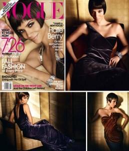 """Halle Berry é a capa da edição de setembro da """"Vogue"""" norte-americana."""
