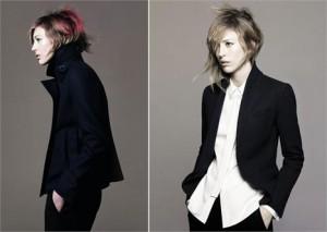 Raquel Zimmermann é a estrela da campanha de inverno 2011 da Uniqlo em parceria com a Jil Sander.
