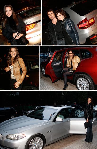 Bia Aydar, Cristiano Baran e Giuliana Romano, Ildi Silva, Manu Carvalho e Maria Fernanda Piedade: a bordo de BMWs