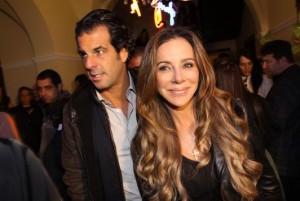 Cristiana Arcangeli e Álvaro Garnero não formam mais um casal