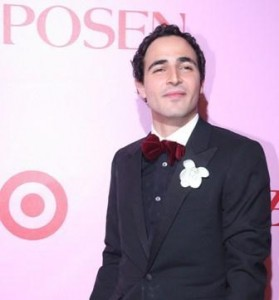 Designer Zac Posen has many reasons to smile these days, especially for his debut at Paris Fashion Week, in September.