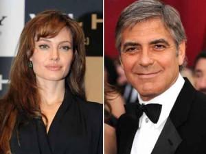 Angelina Jolie e George Clooney vivem Marilyn Monroe e Frank Sinatra no cinema.