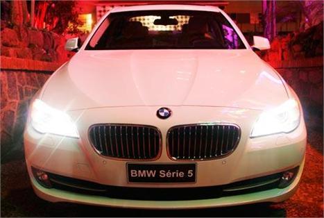 Novo modelo Série 5 BMW: para glamurette ver