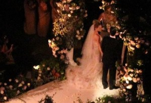 After so much preparation, Hilary Duff's big day has arrived.