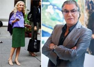 """Roberto Cavalli e Franca Sozzani, editora da """"Vogue"""" italiana, serão os próximos jurados do America's Next Top Model."""