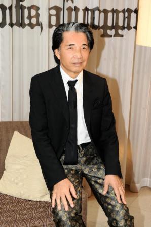 Kenzo Takada: dinner for the designer