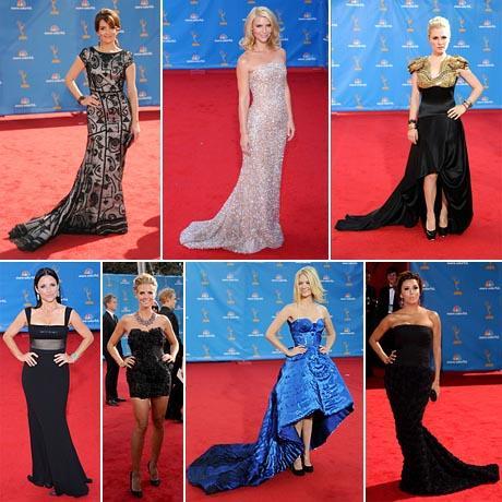 Tina Fey, Claire Danes, Anna Paquin, Julia Louis-Dreyfus, Heidi Klum, January Jones e Eva Longoria Parker: as mais bem-vestidas do 62ª edição do Emmy Awards