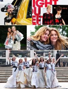 O blogueiro Tommy Ton, do Jak & Jil, registrou os bastidores da campanha do Fashion's Night Out.