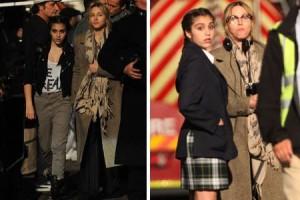 Mais um momento mãe e filha bem fofo entre Lourdes Maria e Madonna.