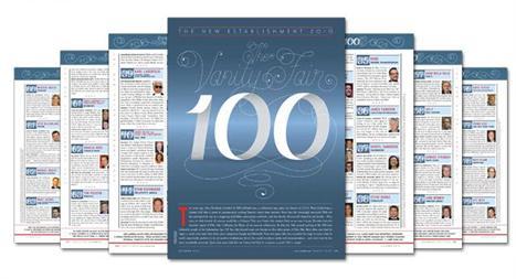 The Vanity Fair 100: os mais influentes da Era da Informação