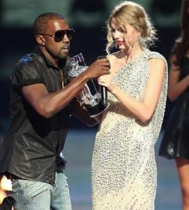 Kanye West faz canção de desculpas para Taylor Swift.