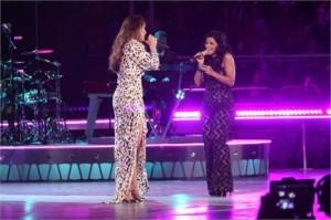 """Depois de cantar """"Human Nature"""", de Michael Jackson, Ivete Sangalo recebe outra atração internacional no show do Madison Square Garden."""