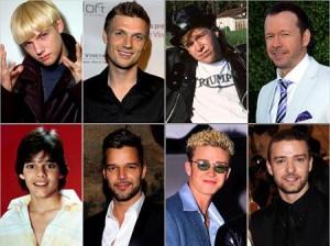 Ex-boybands que encontraram o sucesso ou cairam no anonimato.
