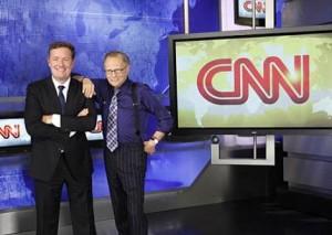 Agora é oficial, a emissora CNN acaba de anunciar que o jornalista Piers Morgan será o sucessor de Larry King no programa de entrevistas do canal norte-americano