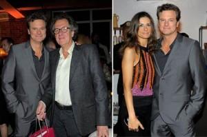 Colin Firth comemora 50 anos e Glamurama tem os cliques.
