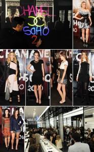 A loja do SoHo da Chanel abre as portas com presenças ilustres.