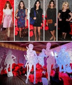 Veja fotos do que rolou no desfile da Mulberry, na Semana de Moda de Nova York.