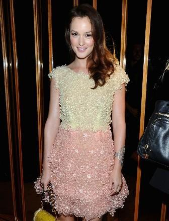 Leighton Meester: fashion plans