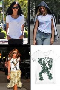 """Veja as camisetas assinadas por estilistas para o site """"Style.com""""."""