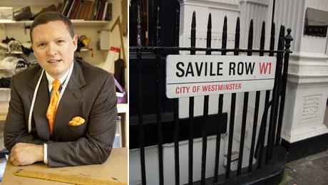 "Matthew Farnes: o ""enfant terrible"" da Savile Row"