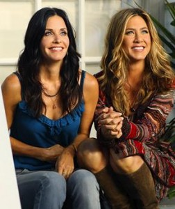 """Jennifer Aniston não consegue emplacar audiência em """"Cougar Town""""."""