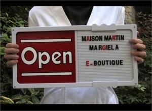Maison Martin Margiela anuncia a abertura de loja virtual.