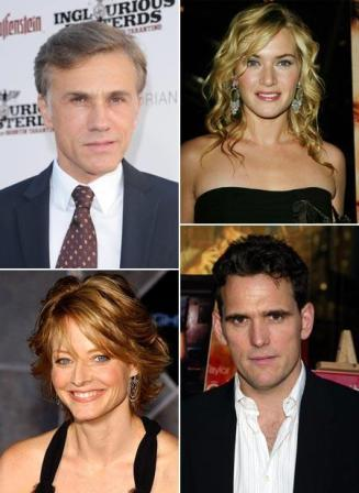 Christoph Waltz, Kate Winslet, Jodie Foster and Matt Dillon: together on the big screen