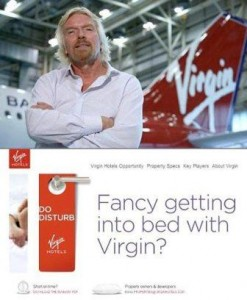 Sir Richard Branson anunciou que a Virgin Group planeja novos investimentos.