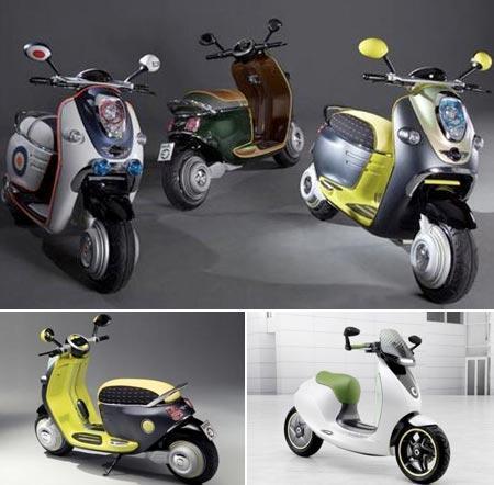 Scooters elétricas: novos conceitos