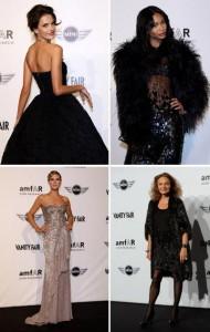 Que glamour! Uma lista dos mais elegantes esteve na galeria La Permanente na noite desta terça-feira, o último dia da Semana de Moda de Milão.