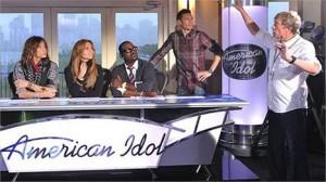 "Jennifer Lopez grava o primeiro episódio de ""American Idol""."