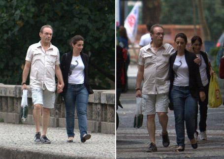 José Wilker e Cláudia Montenegro: não mais apenas bons amigos