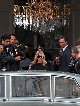 Kate Moss: hotel por enquanto, só nas férias...