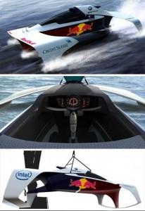 BMW lança barco inspirado na Fómula 1.