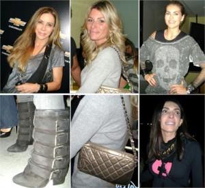 As glamurettes que vieram para o show do Bon Jovi estão arrasando nos looks.