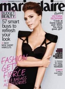 """Victoria Beckham diz que se sente como """"um homem gay em um corpo de mulher""""."""