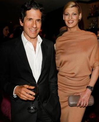 Peter Morton and Linda Evangelista: the romance is over!