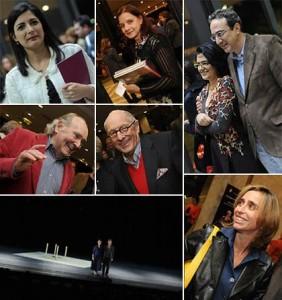 Veja como foi a estreia da turnê de Mikhail Baryshnikov e Ana Laguna em São Paulo.
