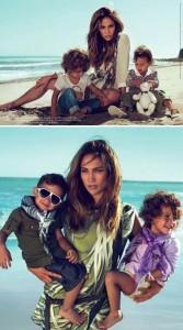 Lembra que a gente falou que Jennifer Lopez e filhos estão na nova campanha da linha infantil da Gucci? Veja as fotos!