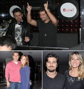 Olha só o @bgagliasso atacando de DJ na @clubroyal .