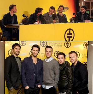 A boy band Take That vai voltar aos palcos no ano que vem…