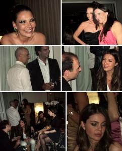 A @SimoneMonte comemorou o aniversário dela rodeada de amigos ontem, na casa de Raquel Silveira. Delícia.
